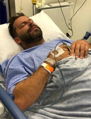 henri castelli internado reproducao instagram pequena Henri Castelli says he was beaten 'cowardly' and shows a fractured face