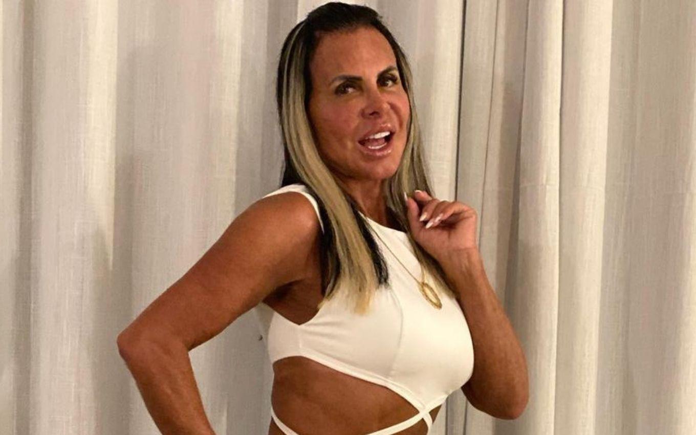 Rainha das plásticas', Gretchen tira pedaço do lábio em novo procedimento ·  Notícias da TV