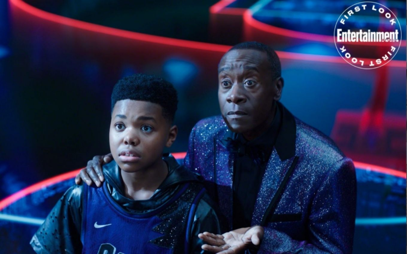 space jam new legacy don cheadle garoto warner bros LeBron James and Bugs Bunny are in the first photos of Space Jam 2; check out