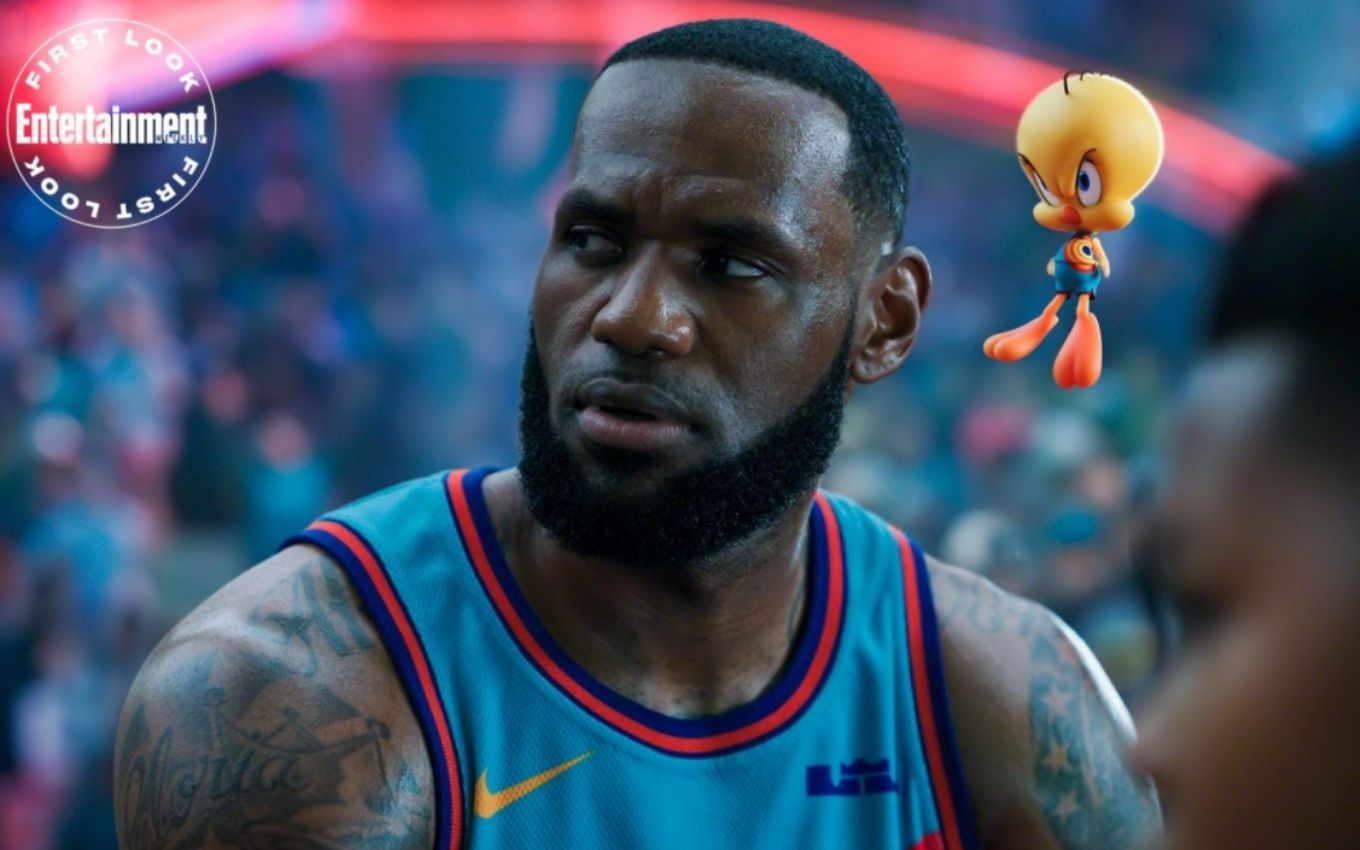 space jam new legacy le bron piu piu warner bros LeBron James and Bugs Bunny are in the first photos of Space Jam 2; check out