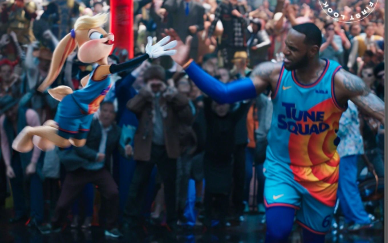 space jam new legacy lebron lolla bunny warner LeBron James and Bugs Bunny are in the first photos of Space Jam 2; check out