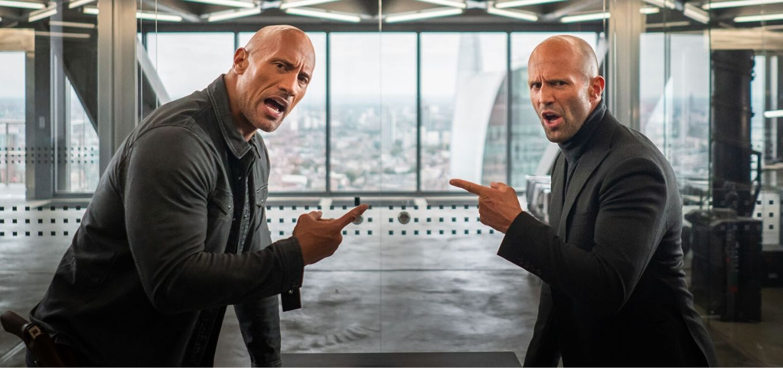 Dwayne Johnson e Jason Statham estrelam spin-off da franquia de corridas de carros Velozes e Furiosos