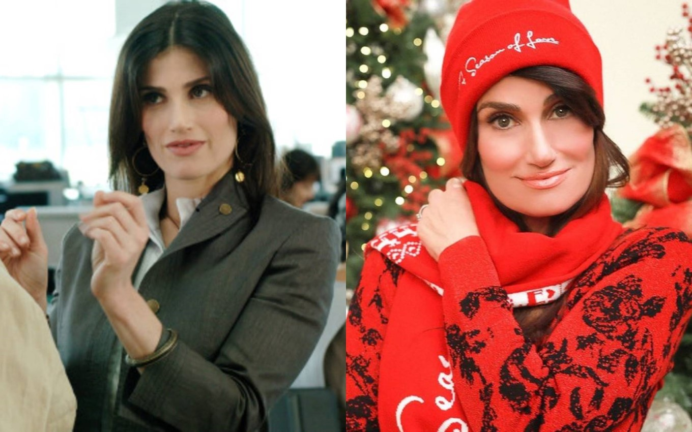 1montagem idina menzel From Netflix Suspense to Frozen: Where's Encantada's Casting After 13 Years?