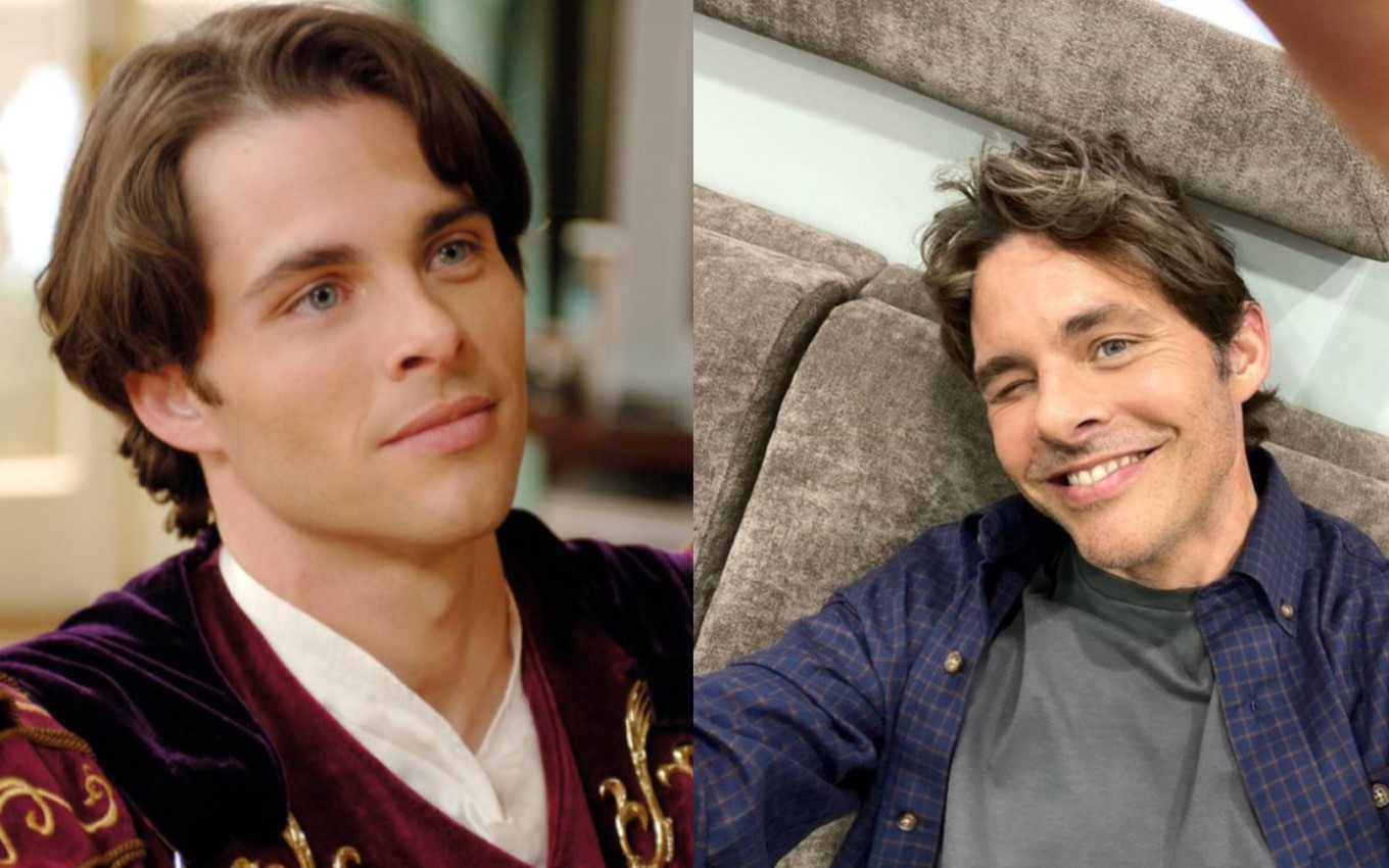 1montagem james marsden From Netflix Suspense to Frozen: Where's Encantada's Casting After 13 Years?