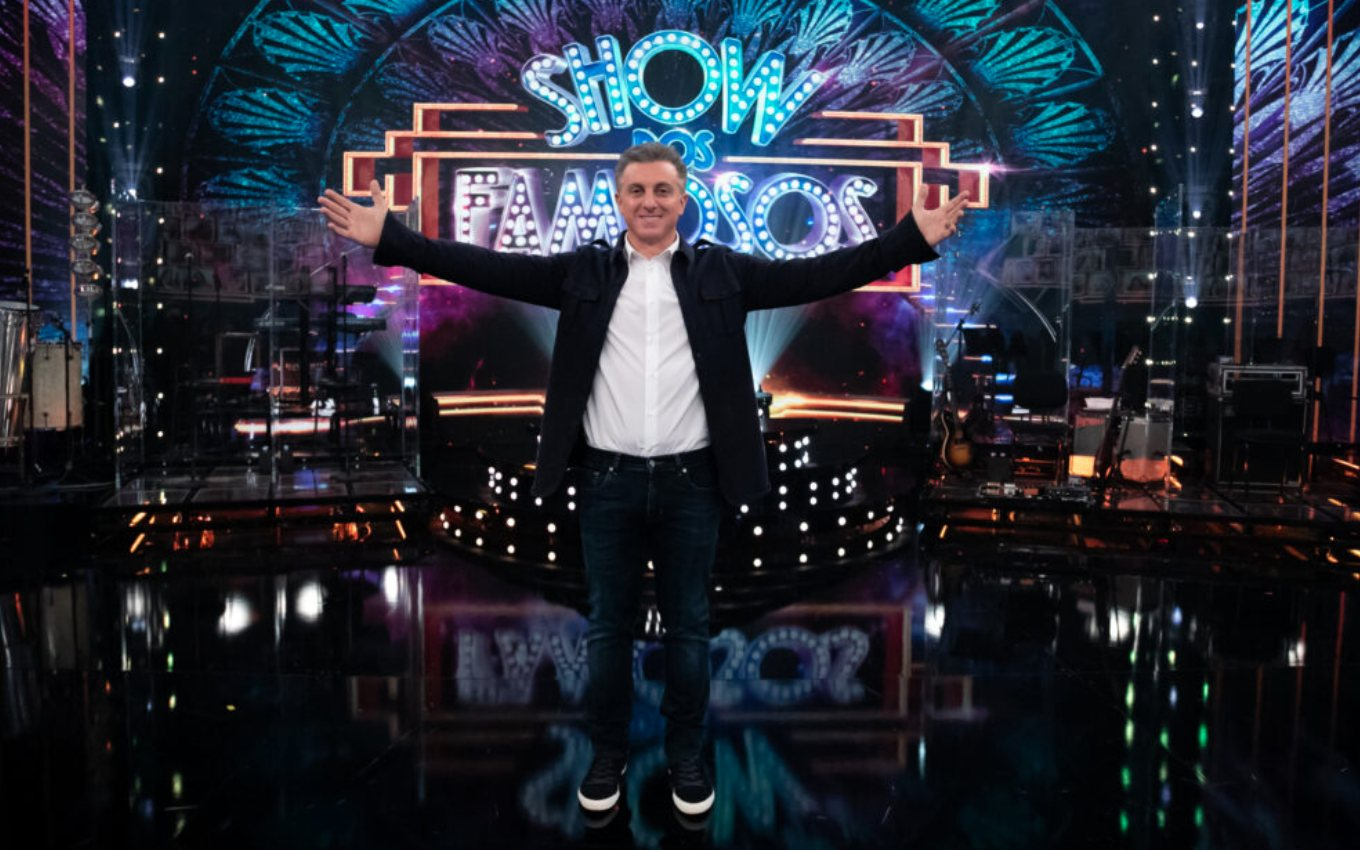 show dos famosos luciano huck domingao com huck 2309 At Domingão com Huck, Show dos Famosos loses quality and annoys the audience