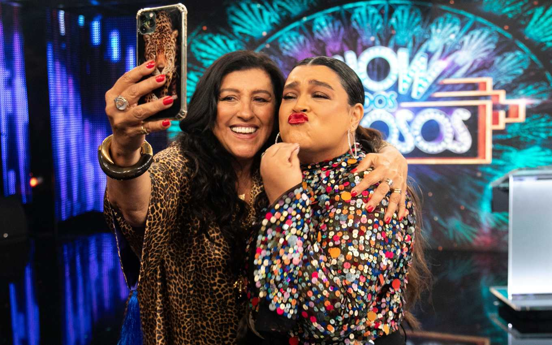 show dos famosos regina case preta gil 2309 At Domingão com Huck, Show dos Famosos loses quality and annoys the audience