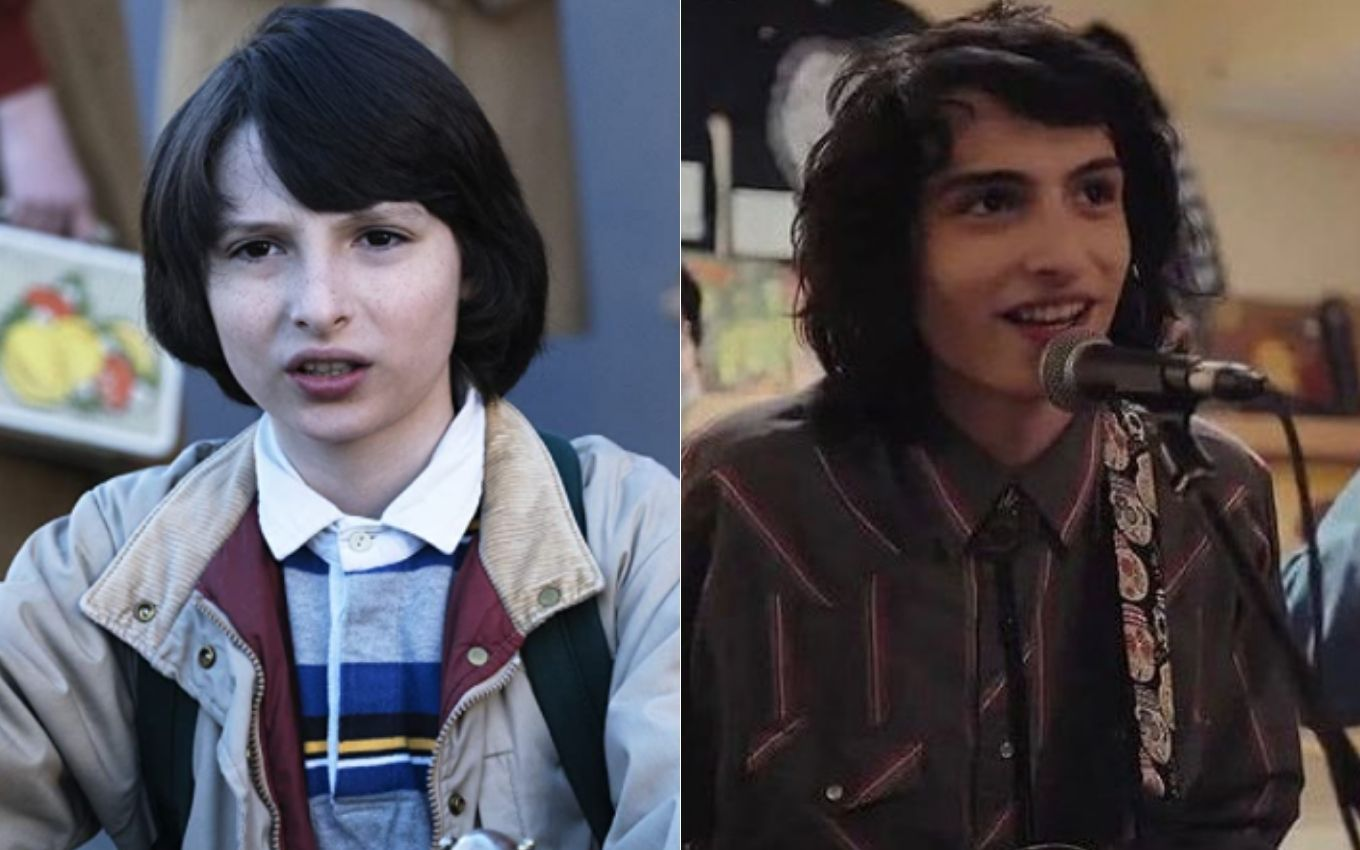 stranger things finn wolfhard antes depois How are the children of Stranger Things feeling five years after the debut?