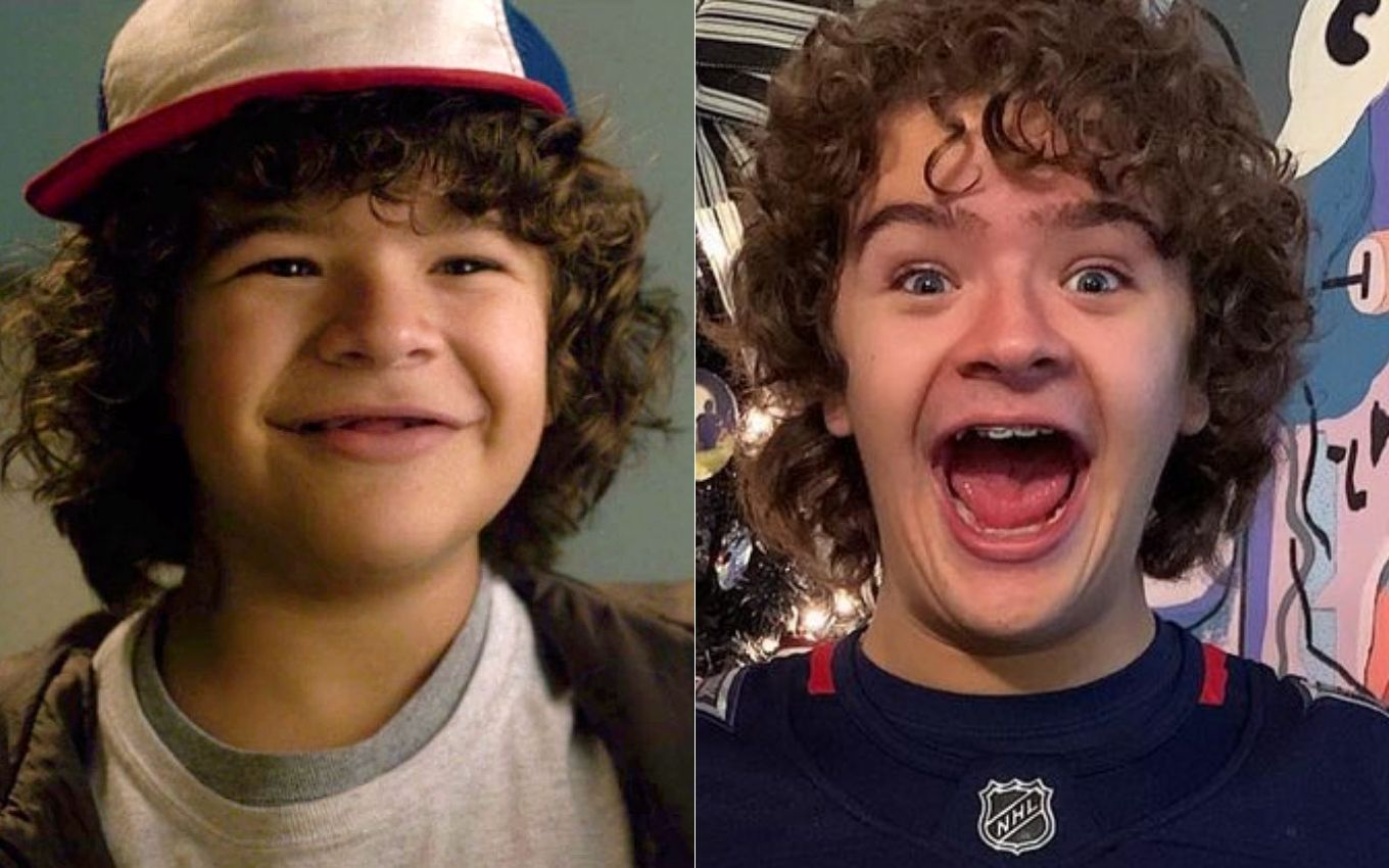 stranger things gaten matarazzo antes depois How are the children of Stranger Things feeling five years after the debut?