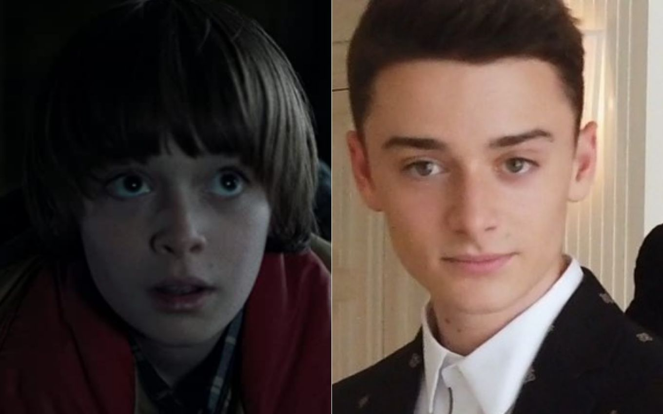 stranger things noah schnapp antes depois How are the children of Stranger Things feeling five years after the debut?