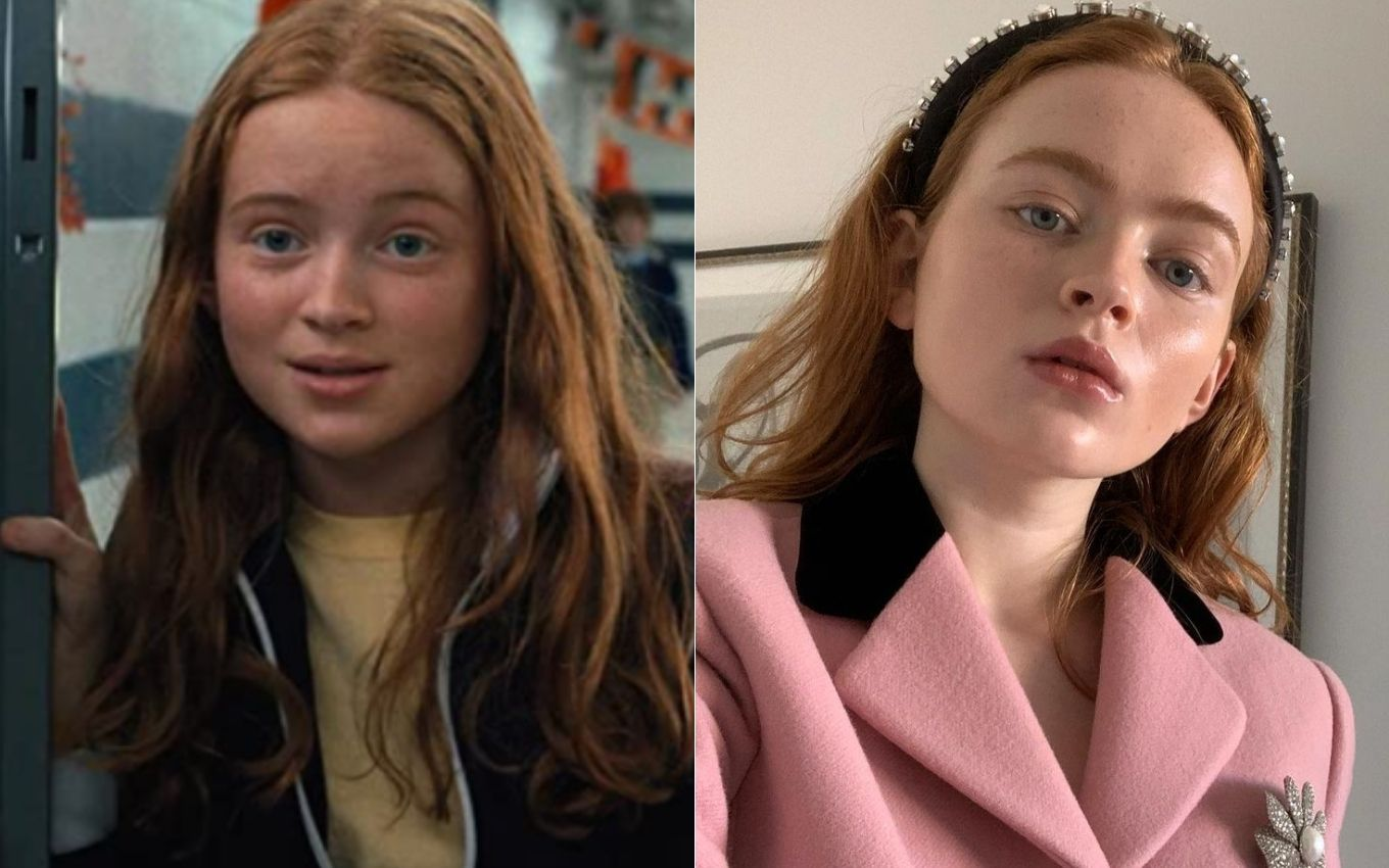 stranger things sadie sink antes depois How are the children of Stranger Things feeling five years after the debut?