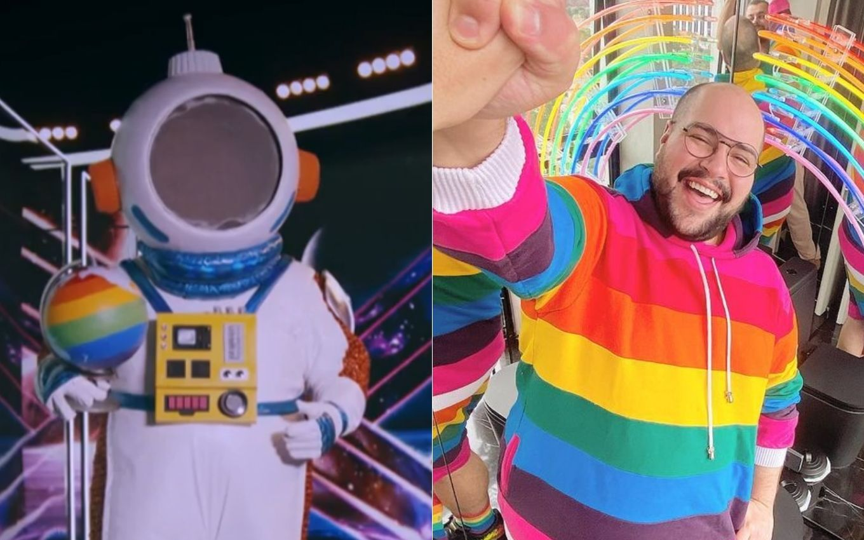 tmsb tiago abravanel astronauta mundo colorido Who is Masked Singer's Astronaut? See 5 tips related to Tiago Abravanel