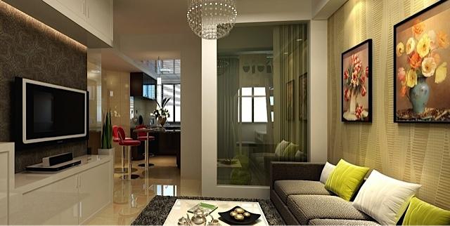 Sala De Tv Pequena Ideias ~  ajuda a ganhar espaço nos novos apartamentos, que têm salas pequenas
