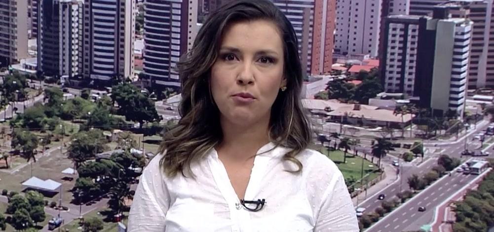 Priscilla Bittencourt, âncora da Globo em Sergipe: indignada após saber de assédio