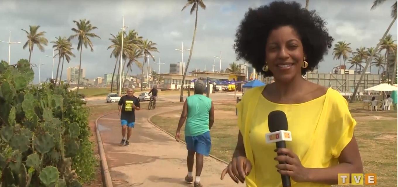 Jornalista Luana Assiz trabalhava como repórter na TVE